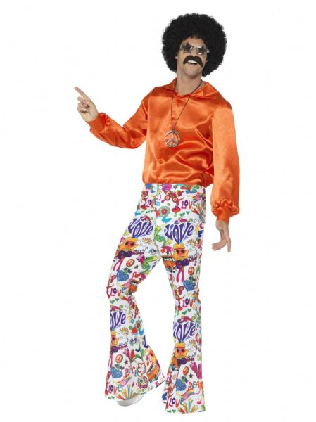 60s Groovy Flared Trousers